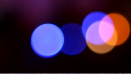 Color Circles Bokeh