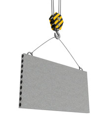 concrete plate carrying