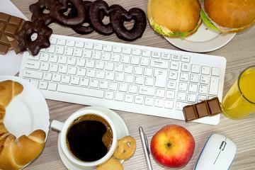 food we eat during work