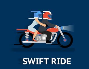 Cartooned Swift Ride Concept Design