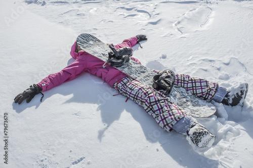 Papiers peints Glisse hiver snowboarder stanca