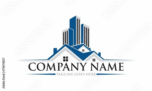 Real Estate Vector Logo Design - 79674837