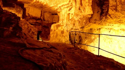 King Solomon's Quarries. Jerusalem