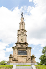 Confederate Memorial in Savannah Park