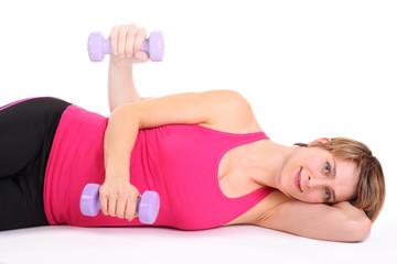 trainieren der Schultermuskulatur