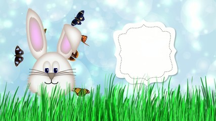 Frohe Ostern Osterhase Video Animation