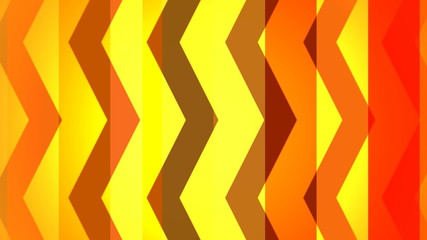 geometry pattern moving on striped background