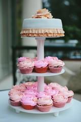 Wedding pink cakes
