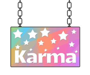 Karma Colorful Signboard