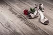 Leinwandbild Motiv Argentine tango poster or postcard