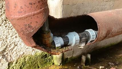 Water Corner Pipe Leaks