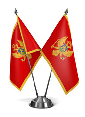 Montenegro - Miniature Flags.