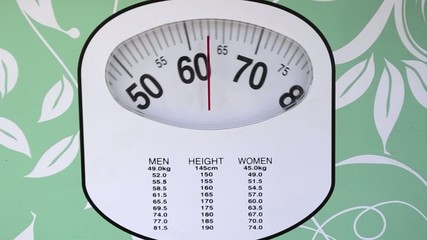 Woman Weight Controlling Test