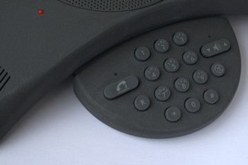 Voice Conference Telephone, closeup of keypad