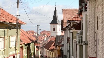 A Mountain Village Hill Street