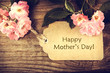 Mothers day card with roses - 79690009