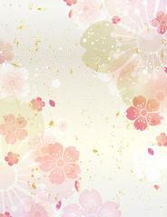 桜 和柄 春