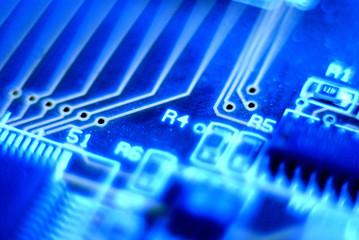 electronic, circuit, board