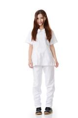 Asian nurse woman
