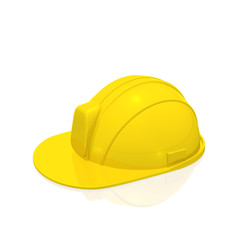 Construction Helmet, isolated on white background