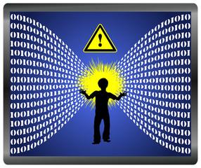 Caution Information Overload for Children