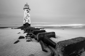 Talacre lighthouse Point of Ayr