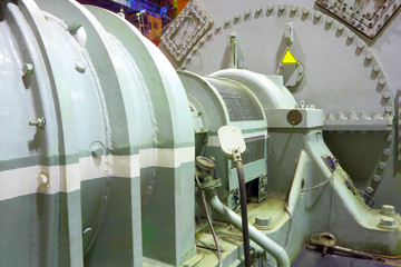 Power generator steam turbine