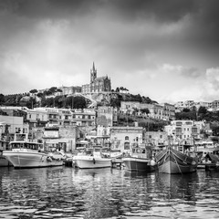 Mgarr à Gozo en NB, Malte