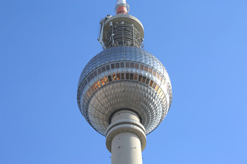Famous German TV Tower Fernsehturm