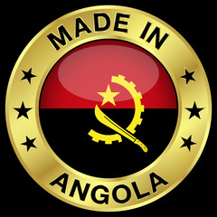 Angola Made In Badge
