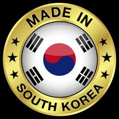 South Korea Made In Badge