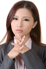 attractive Asian business woman