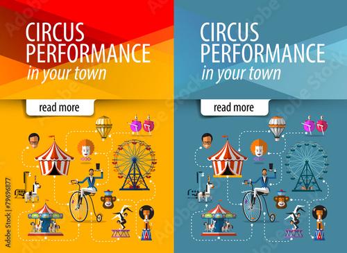 circus vector logo design template. entertainment or show icon. - 79696877