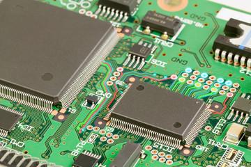 Electronics. Printed circuit board.