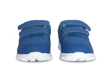 blue sneakers for children