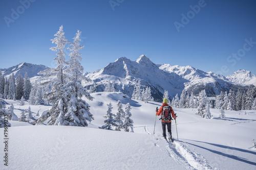 Winter in den Bergen - 79699233