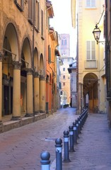 street of Bologna