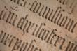 Altes Schriftbild