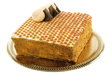 Russian honey cake.