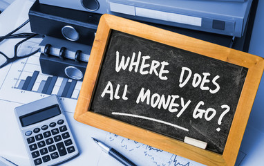 where does all money go?