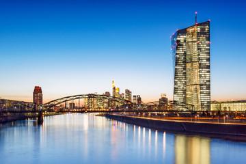 Europäische Zentralbank in Frankfurt am Main