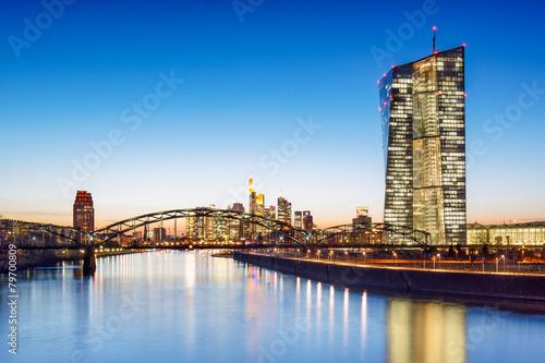 Europäische Zentralbank in Frankfurt am Main - 79700809