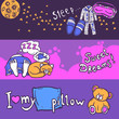 Sleep Time Banner Set - 79702036