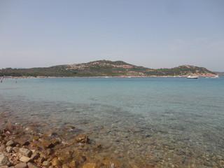 The coast of Sardinia in Capo Coda Cavallo
