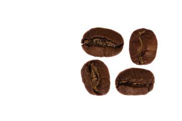 4 Kaffeebohnen