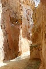 antique underground reservoir, Zippori, Israel