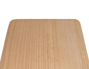 chopping board, isolated on white