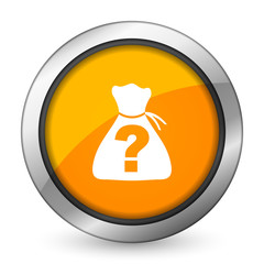 riddle orange icon