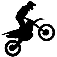 Silhueta - Motocross