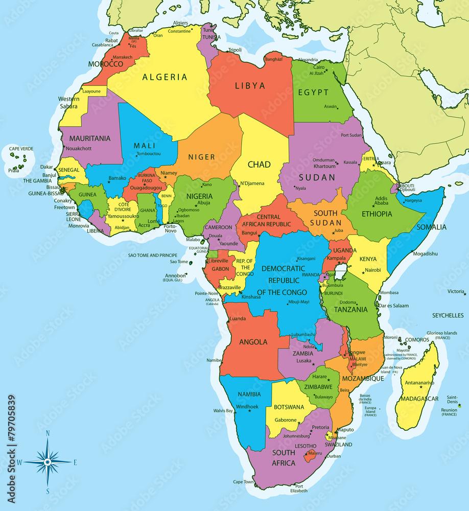 Mapa Mapa Afryki